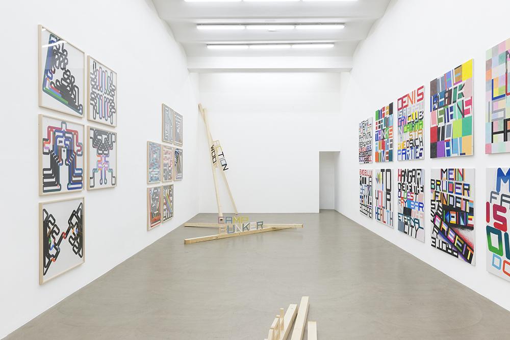 WOOF 1970-1992 u. 2014, Gallery Meyer Kainer, Wien