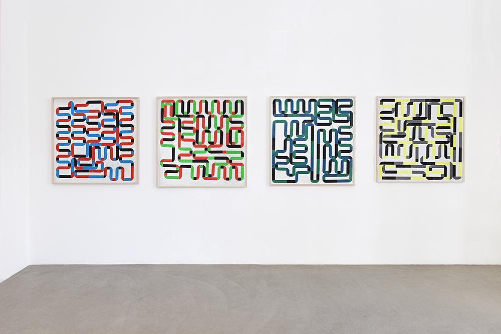 WOOF, 1970-1992 u. 2014,  GALLERY MEYER KAINER, Vienna 2014