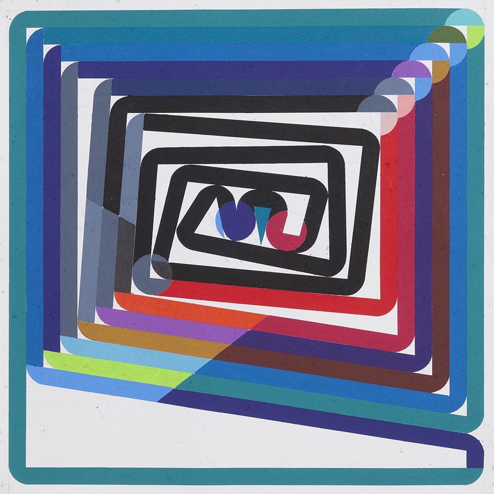 1982/2013  oil pastel on paper, 100x100cm