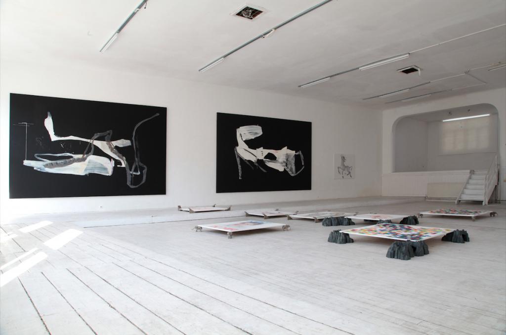 Die Verwandlung, Siggi Hofer/Franco Kappl, Kunstverein Schattendorf, Burgenland 2017