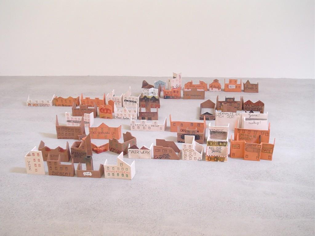 Weit und Breit kein Ende, Galerie Eva Presenhuber, Zürich 2005