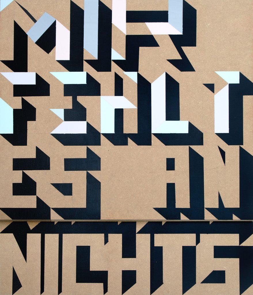 """""""Nichts"""" 65cm x 86 cm 2020   Studio 921b, Vienna"""