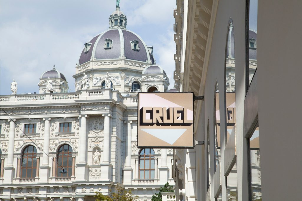CRUEL, (cruel summer camp) Exile Gallery, Vienna 2020 Photo: Michael Strasser